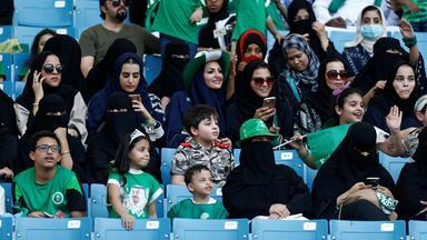 saudi arabia women attend a rally to celebrate the 87th annual national day of saudi arabia in riyadh