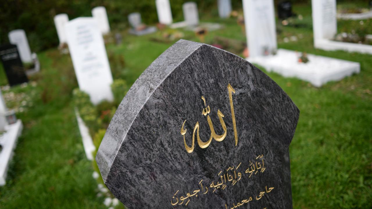 Islamische Bestattungen