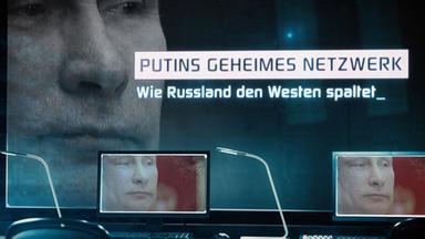 Frontal 21 - Putins Geheimes Netzwerk