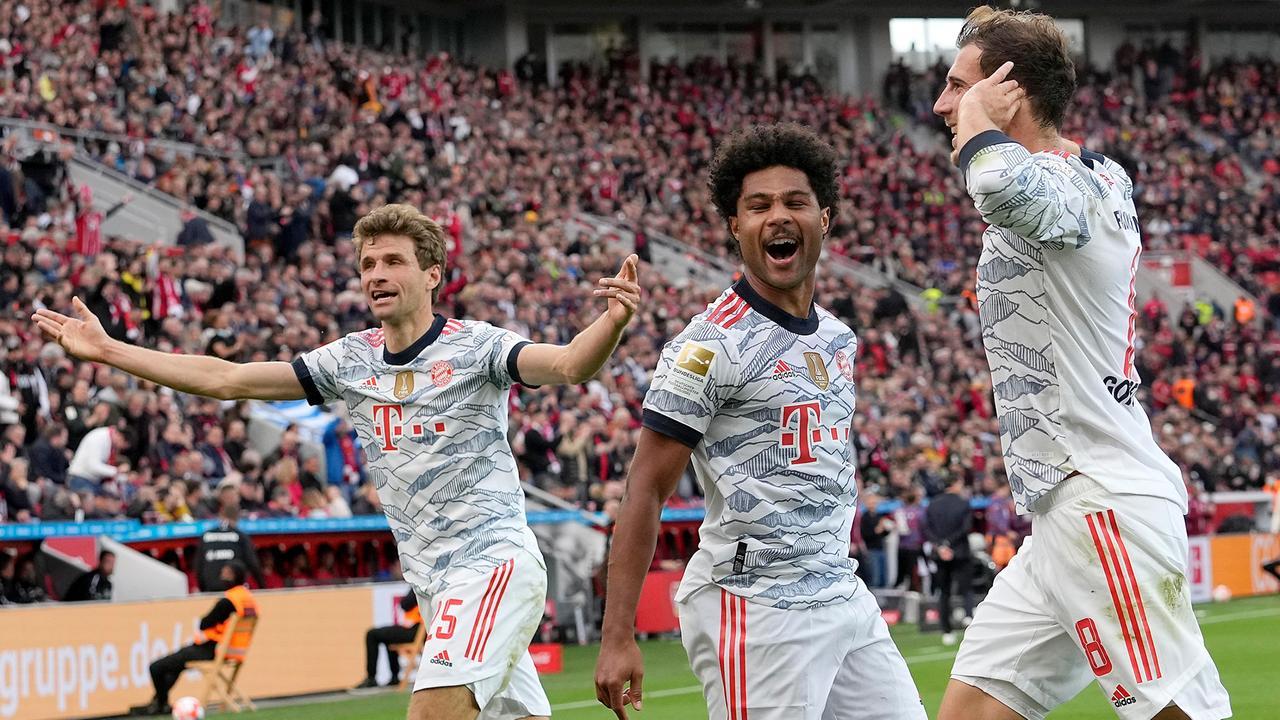 Bundesliga: FC Bayern zerlegt Bayer Leverkusen