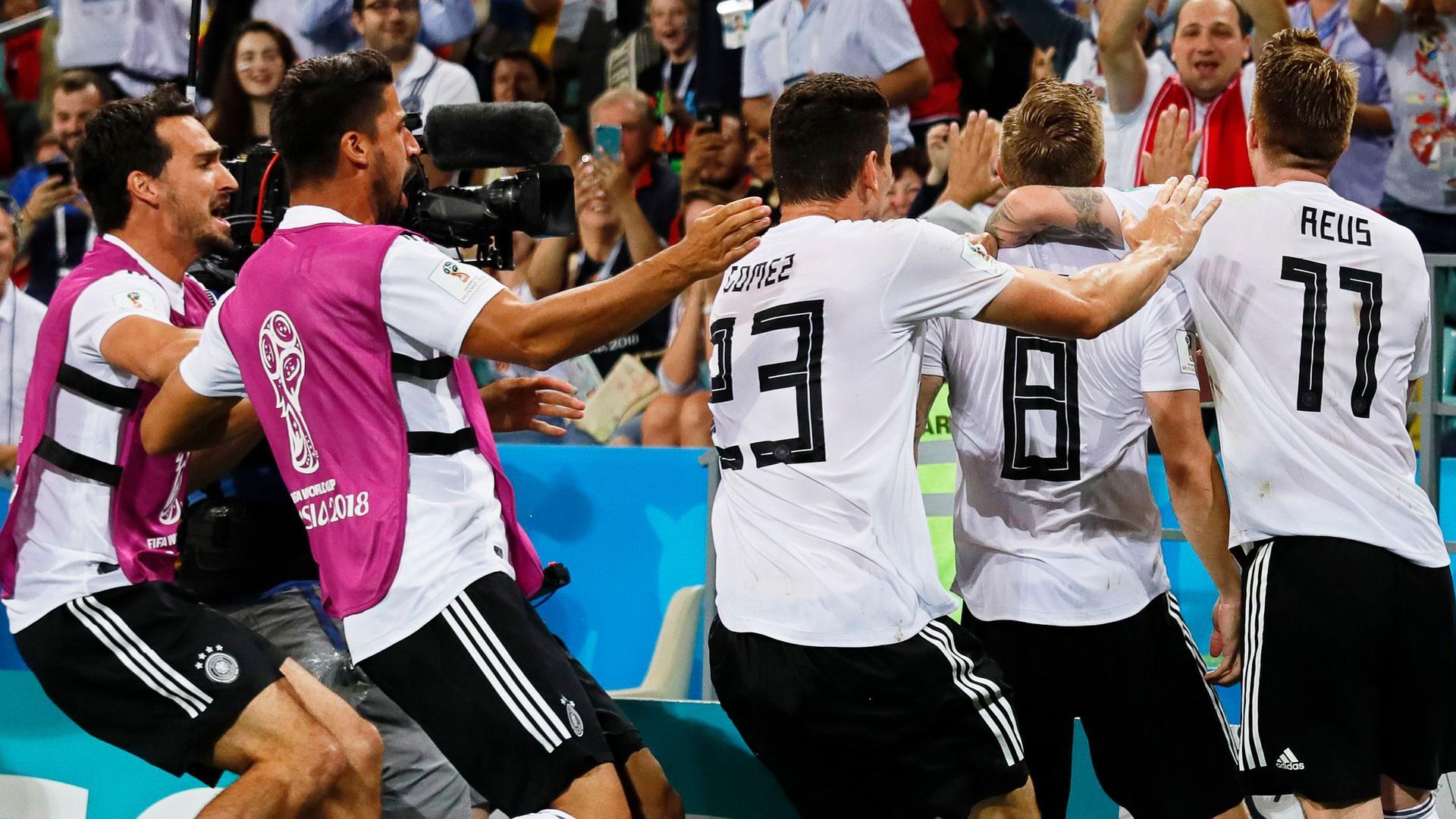 Gruppe F Deutschland Schweden 21 Fifa Wm 2018 Zdfmediathek