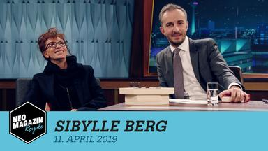 Neo Magazin Royale - Neo Magazin Royale Mit Jan Böhmermann Vom 11. April 2019
