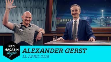 Neo Magazin Royale - Neo Magazin Royale Mit Jan Böhmermann Vom 12. April 2018 - Zu Gast: Alexander Gerst