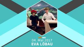 Eva Löbau zu Gast im NEO MAGAZIN ROYALE am 4. Mai 2017 mit Jan Böhmermann