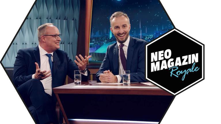 NEO MAGAZIN ROYALE vom 31.10.2019 mit Jan und Oliver