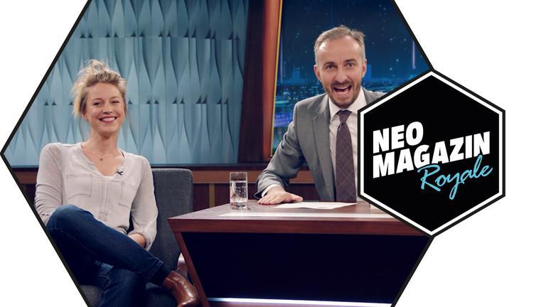 NEO MAGAZIN ROYALE vom 10.10.2019 mit Jan und Patrizia