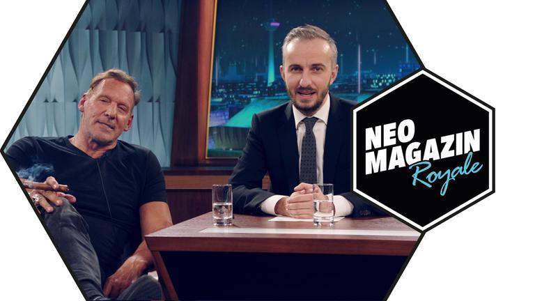 NEO MAGAZIN ROYALE vom 21.11.2019 mit Jan und Ralf