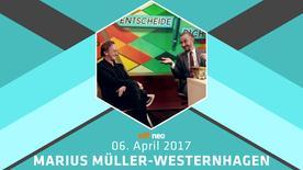 Marius Müller-Westernhagen beim NEO MAGAZIN ROYALE mit Jan Böhmermann am 6. April 2017