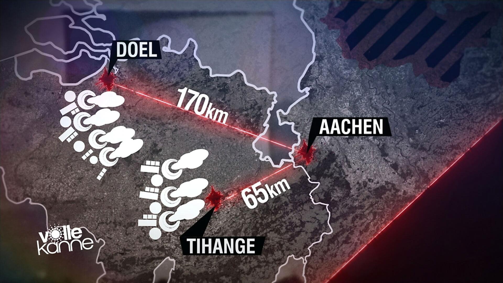 Tihange Gefahrenzone Karte.Eugh Zu Belgischen Atomreaktoren Laufzeitverlängerung Verstößt