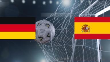 Zdf Sportextra - Deutschland - Spanien Am 28. Oktober 2017