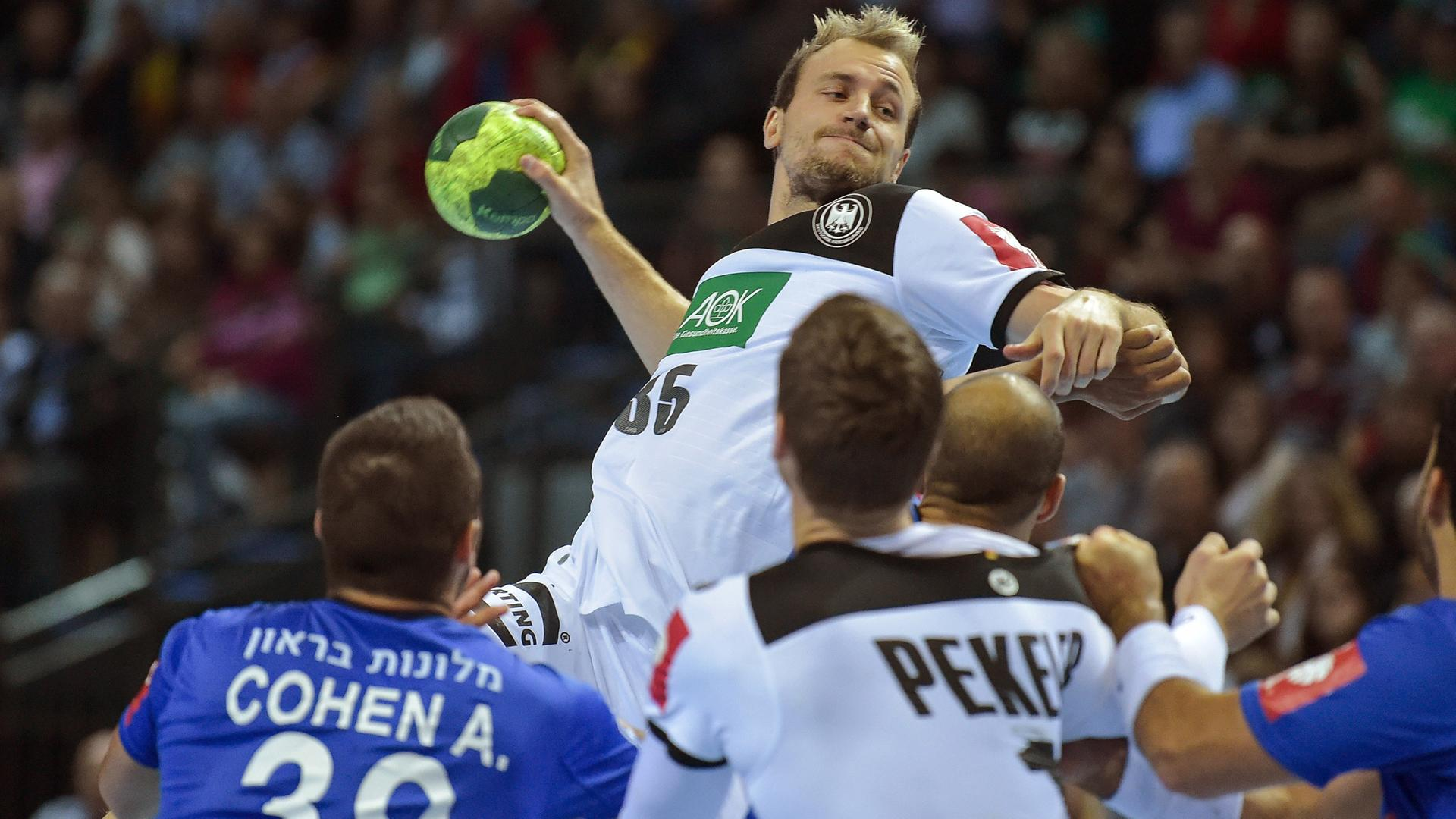 Handball Em Qualifikation Deutschland Israel Am 2410 Zdfmediathek
