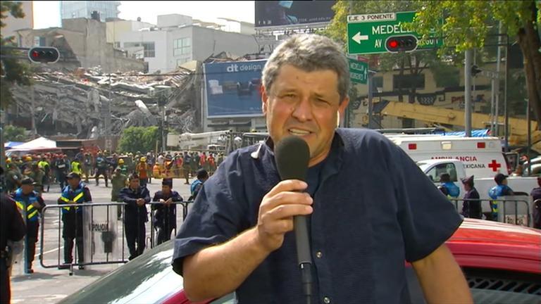 Gerold Schmidt in Mexiko