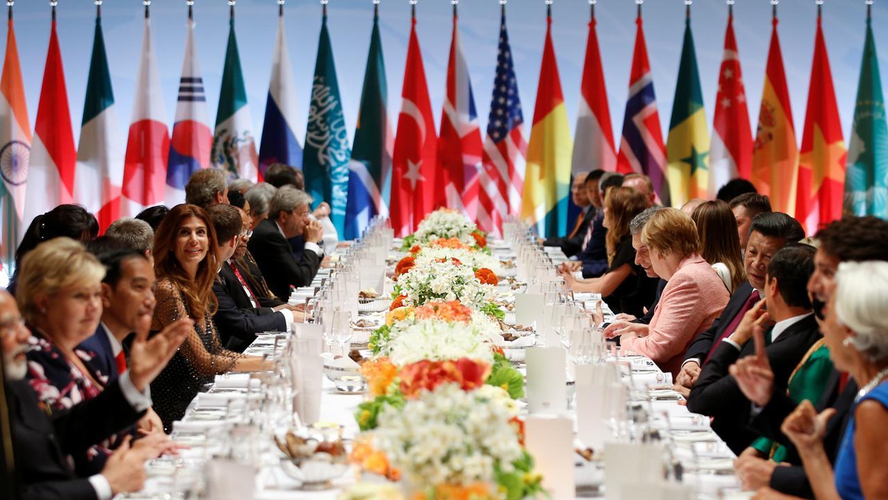 G20 Gipfel Erklärung