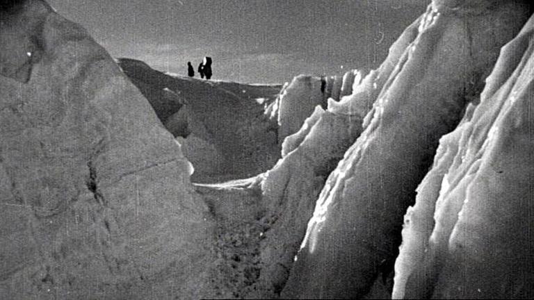 Glacier on Mount Everest