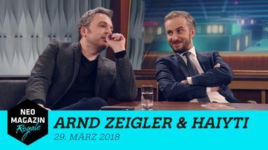 Neo Magazin Royale - Neo Magazin Royale Mit Jan Böhmermann Vom 29. März 2018