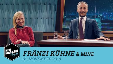 Neo Magazin Royale - Neo Magazin Royale Mit Jan Böhmermann Vom 1. November 2018
