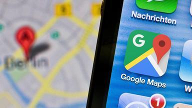Google Maps: Karten-App auf iPhone