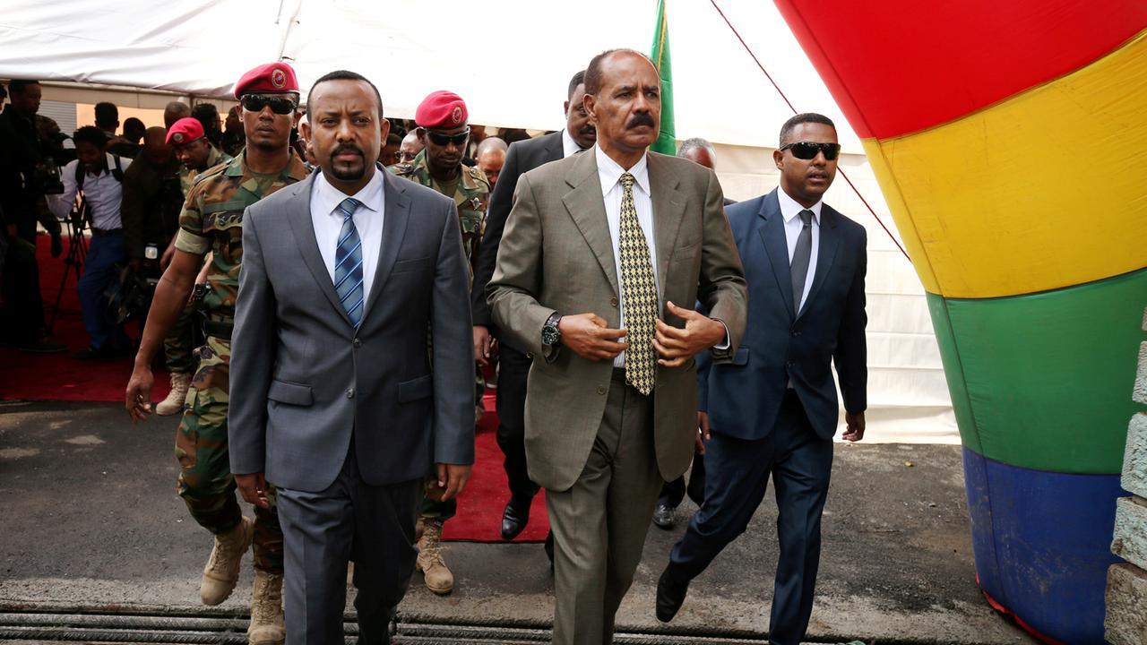 Nach Jahren der Feindschaft: Äthiopien-Eritrea-Grenze geöffnet