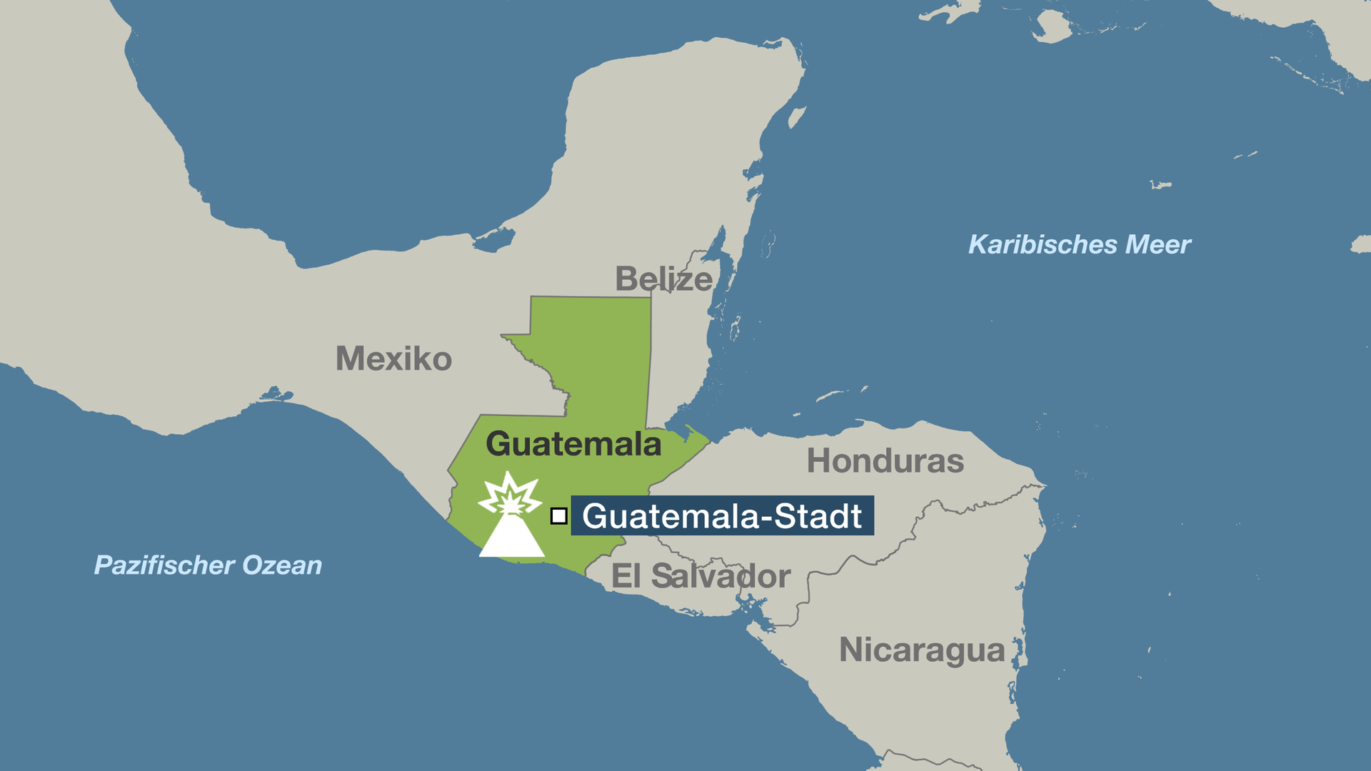 Guatemala Karte.Guatemala In Der Hölle Des Feuervulkans Zdfmediathek