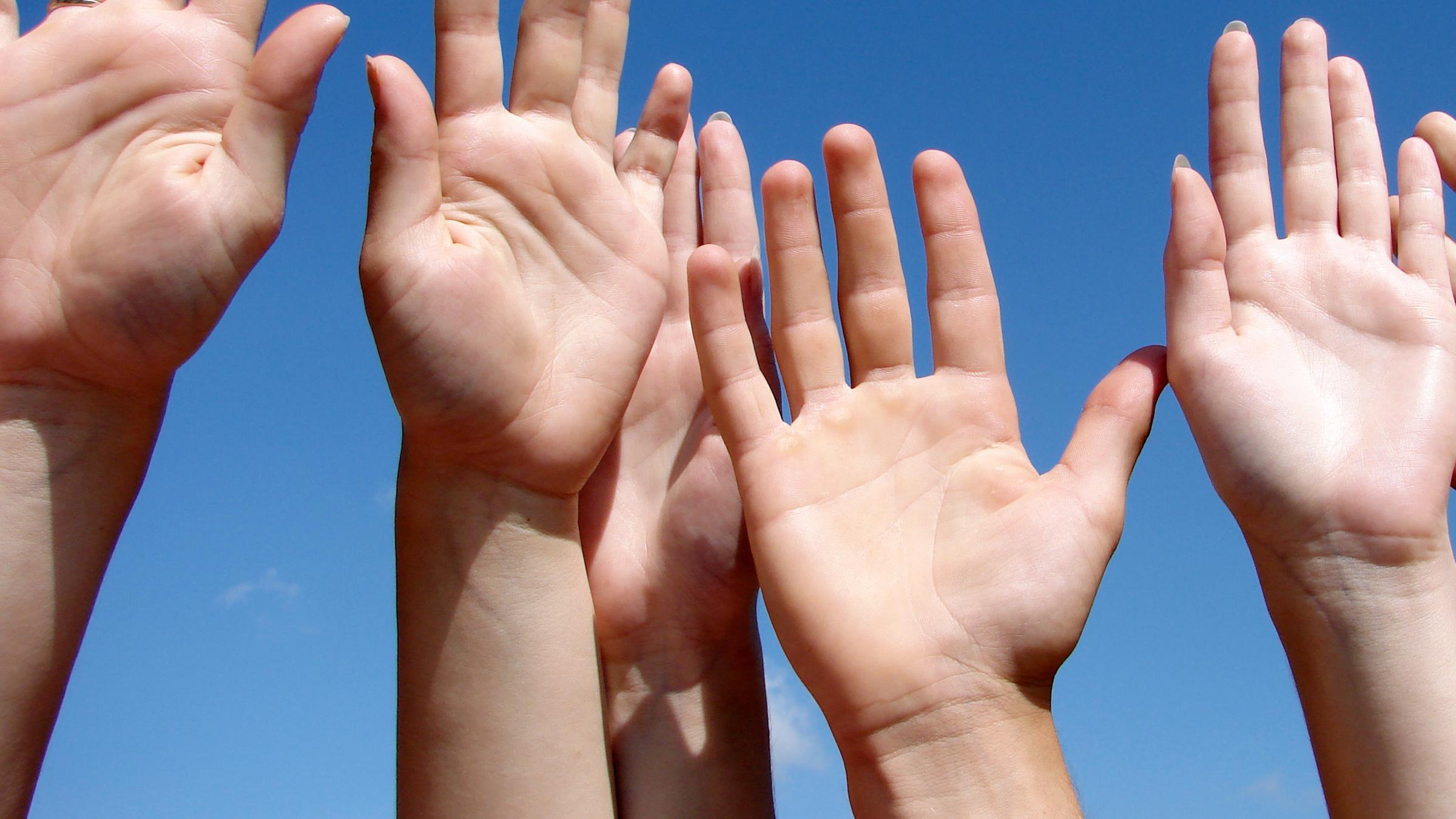 Kribbelnde finger