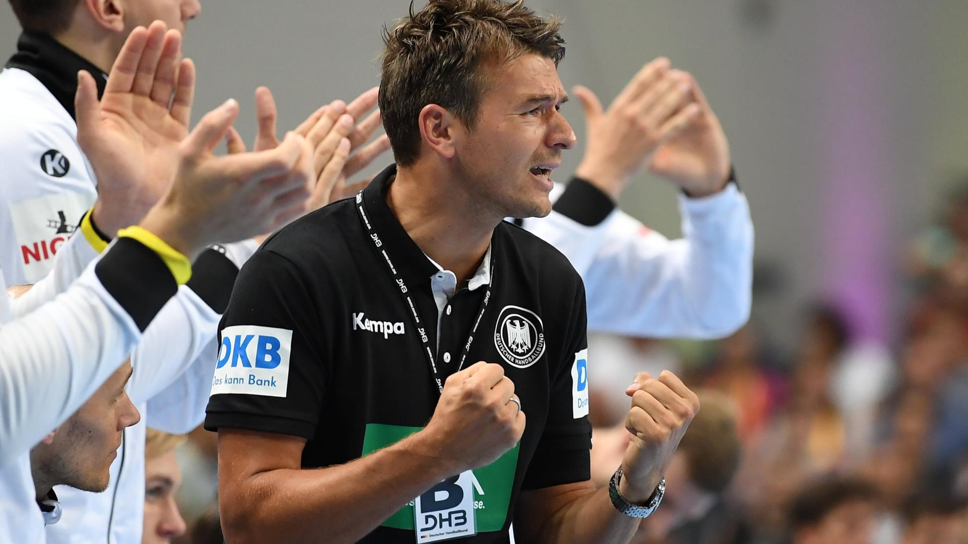 Spielbericht Handball Em Deutschland Mazedonien Zdfmediathek