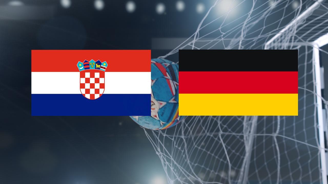 Handball-EM: Kroatien - Deutschland am 18.1. im ZDF-Livestream