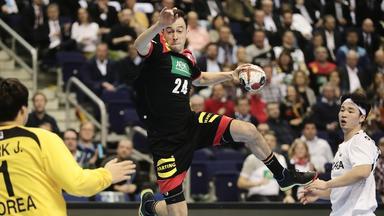 Zdf Sportextra - Handball-wm: Korea - Deutschland Am 10. Januar