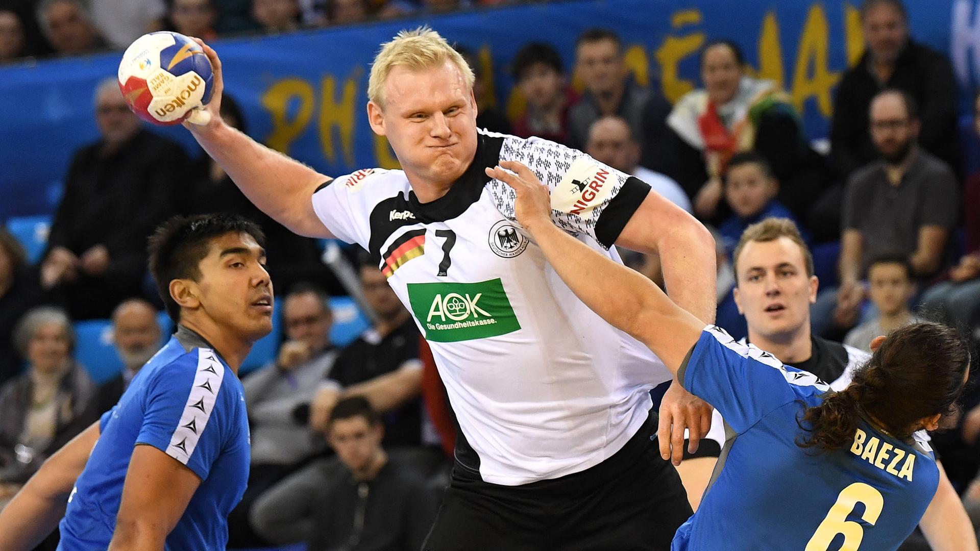 Deutschland Besiegt Chile Bei Handball Wm Zdfmediathek