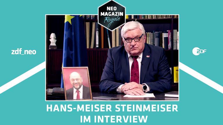 Hans-Meiser Steinmeiser im Gespräch mit Jan Böhmermann im NEO MAGAZIN ROYALE