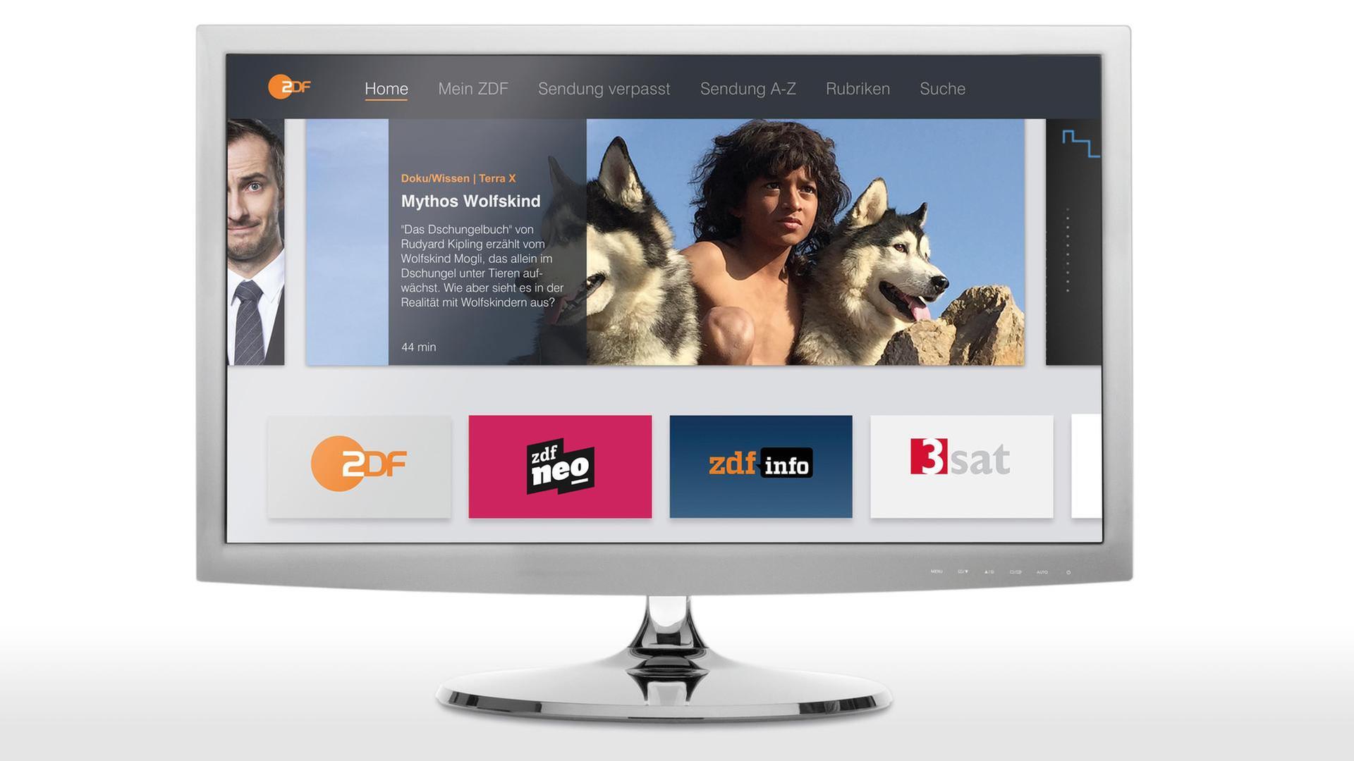 Smart TV: Die ZDFmediathek auf Ihrem TV-Gerät - ZDFmediathek