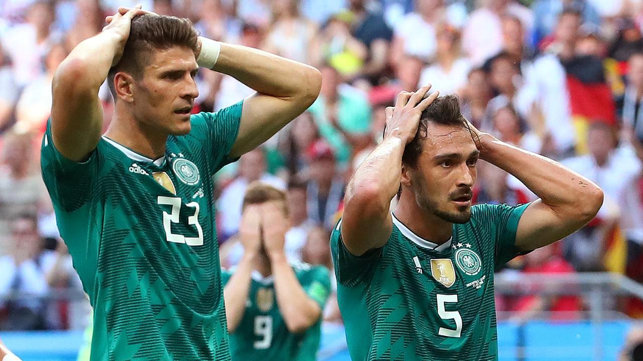 Vorrundenaus Deutsche Nationalmannschaft