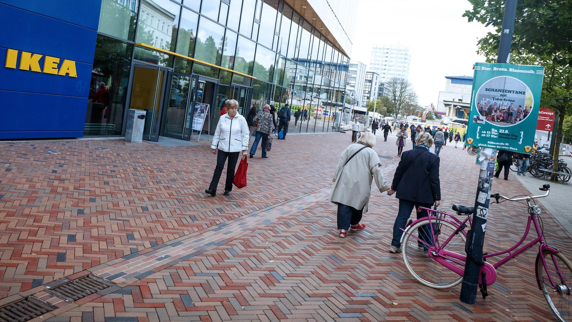 Ikea Ein Möbelriese Will In Die Fußgängerzonen Zdfmediathek
