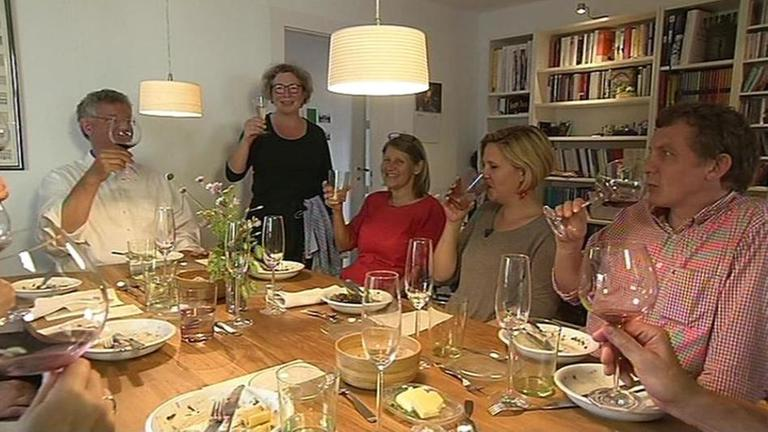 dinner im wohnzimmerrestaurant - zdfmediathek