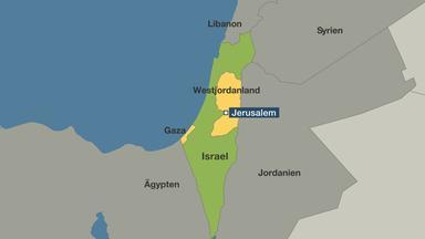 Israel Jerusalem Karte.Nach Wahl In Israel Netanjahu Mit Regierungsbildung