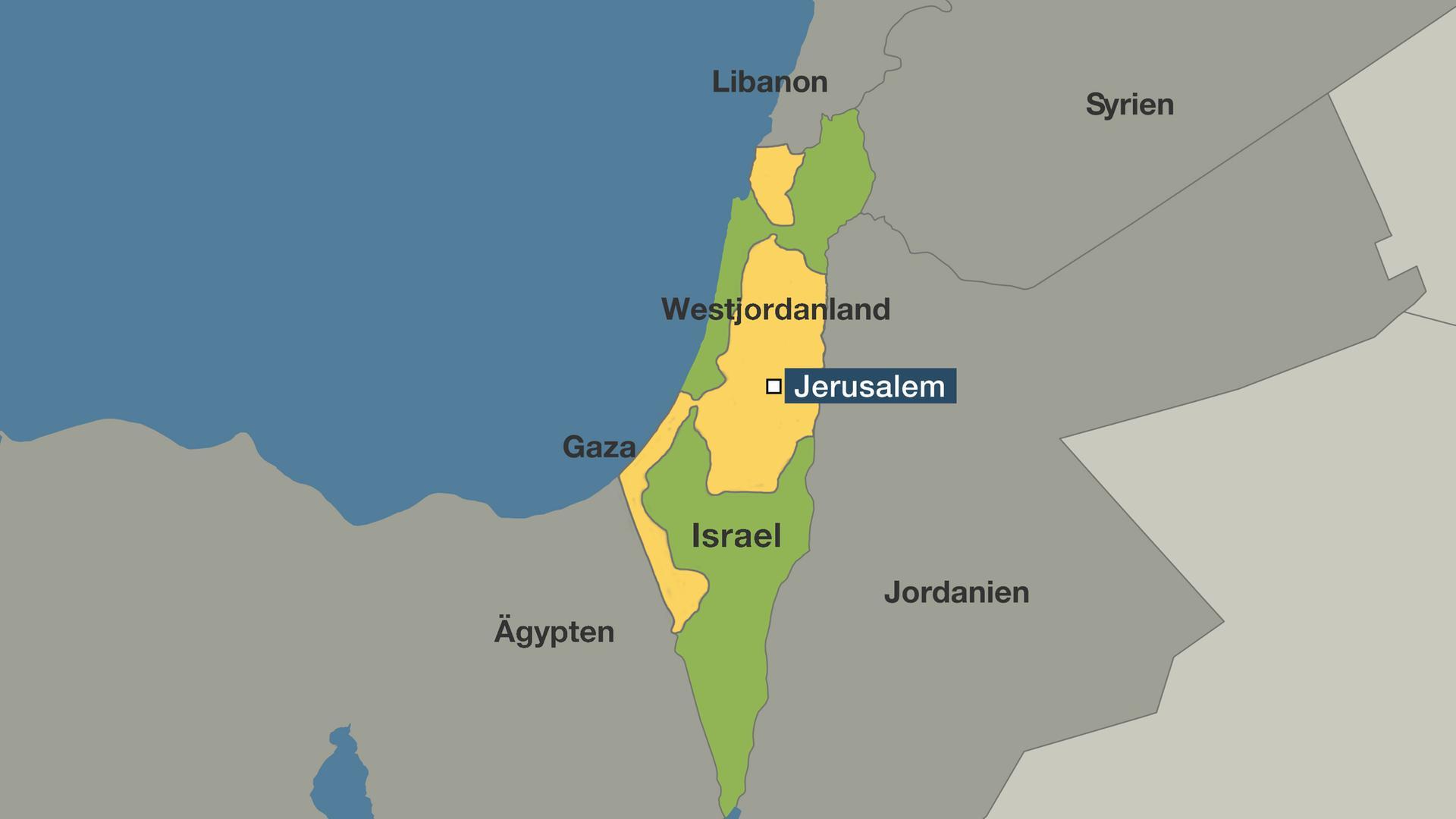 israel karte Gründung des Staates Israel: Der Anfang eines Kampfes ohne Ende  israel karte