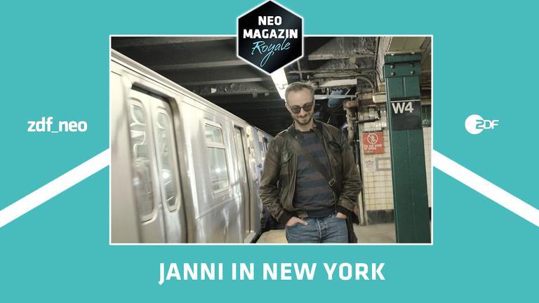 Jan Böhmermann zu Besuch in New York