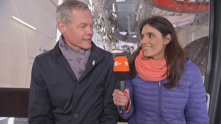 Christoph Schmidt und Lisa Jandi