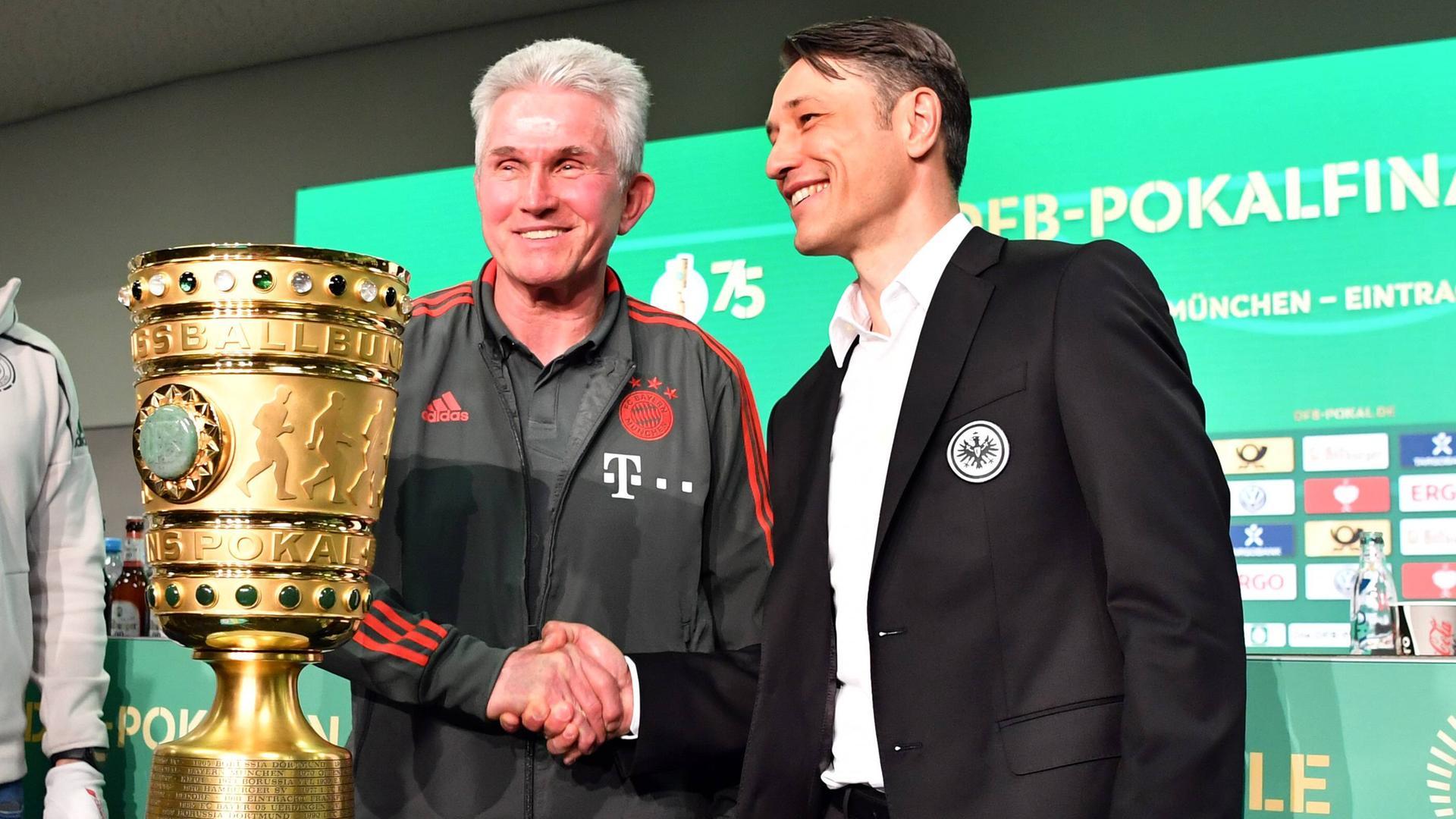 Dfb Pokalfinale Gegenwart Gegen Zukunft Zdfmediathek