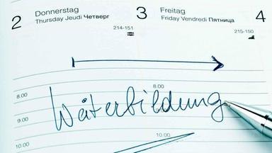 """Kalendereintrag """"Weiterbildung"""""""
