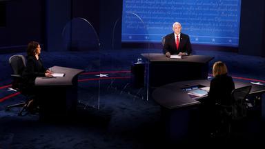 Zdf Spezial - Tv-duell Der Vizes: Mike Pence Gegen Kamala Harris