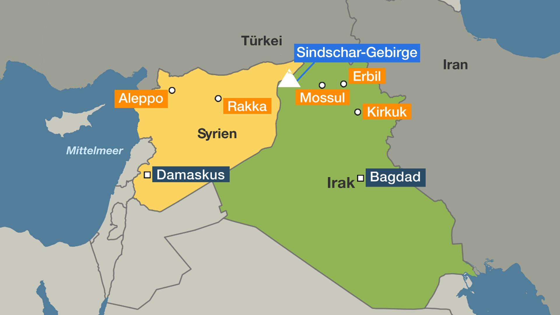 Syrien Irak Karte.Trumps Twitter Drohung Is Kämpfer Berlin In Der Zwickmühle