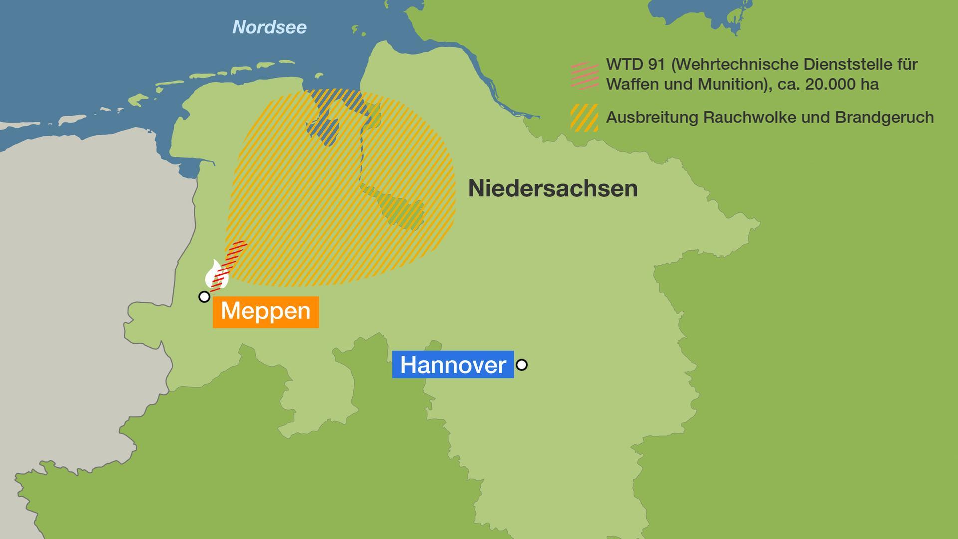 Karte Nordseeküste Niedersachsen.Bundeswehr In Der Kritik Moorbrand Ist Jetzt Ein Fall Für Die
