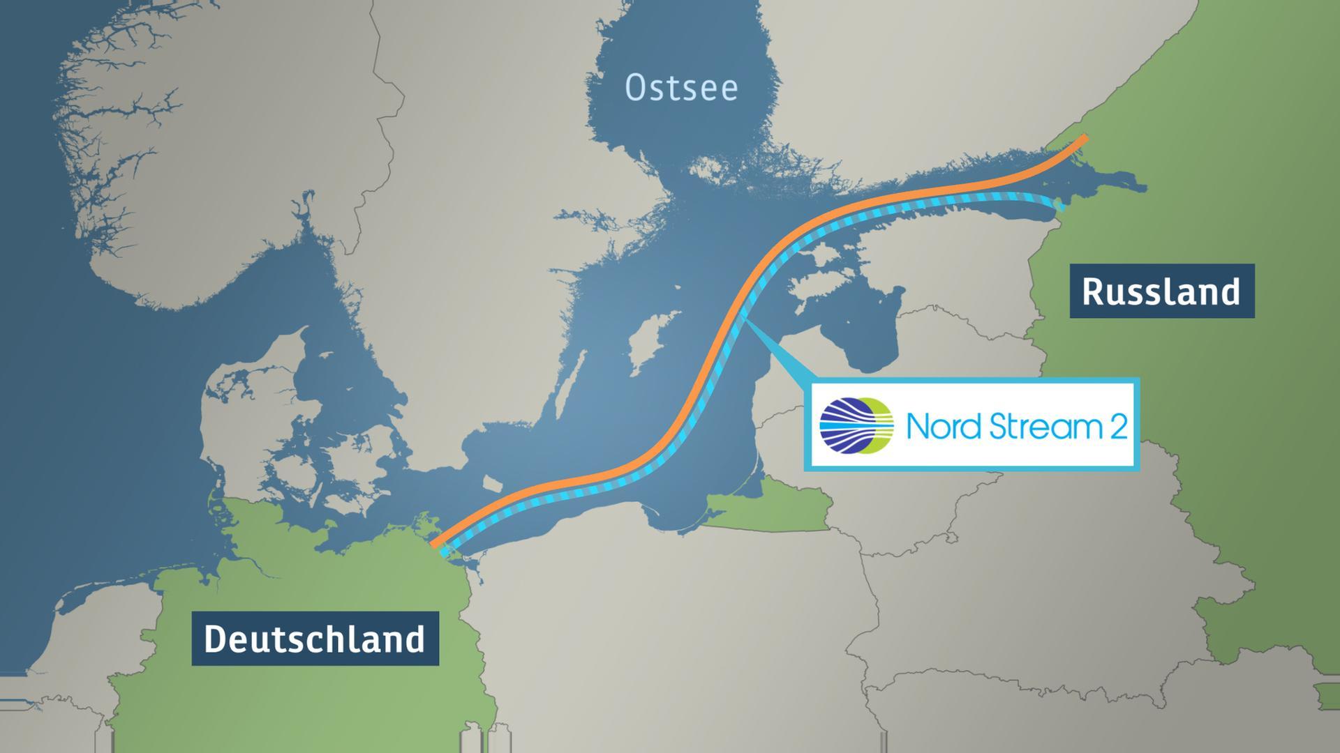 Nord Stream 2 Karte.Bauarbeiten Voll Im Zeitplan Nord Stream 2 Trotzt Trump