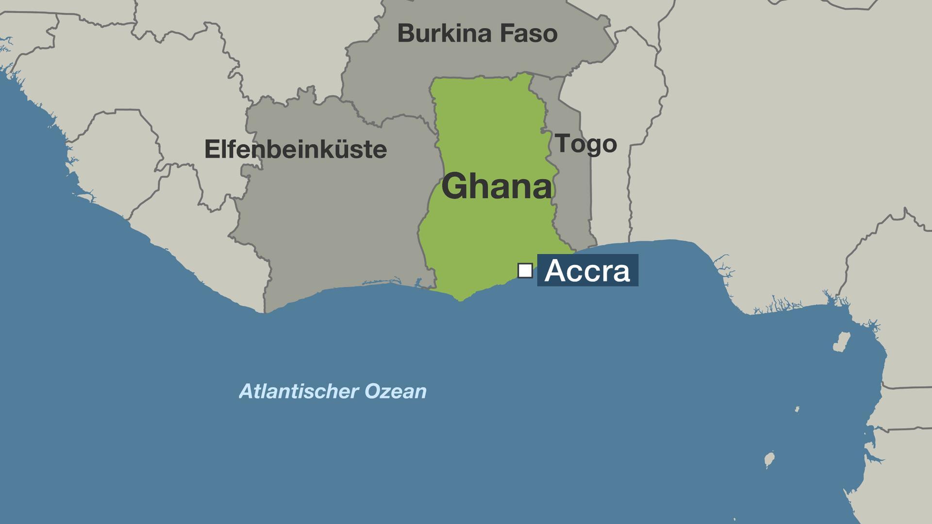 Ghana Karte.24 Millionen Investitionen Start Up Aus Ghana Krempelt