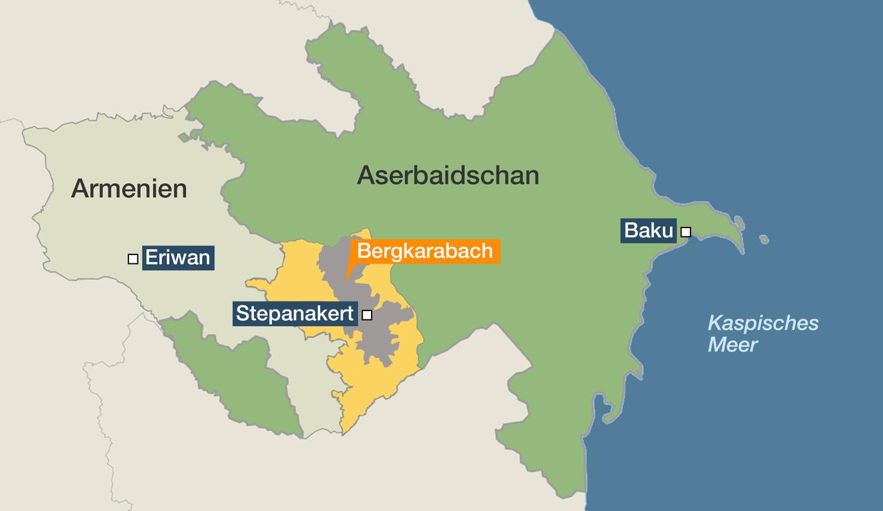 Kaukasus Wieder Gewalt Bei Konflikt Um Berg Karabach Zdfheute