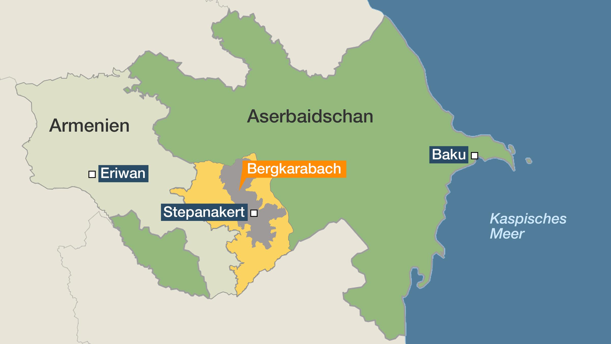 Weiter Erbitterte Kampfe In Bergkarabach Zdfheute