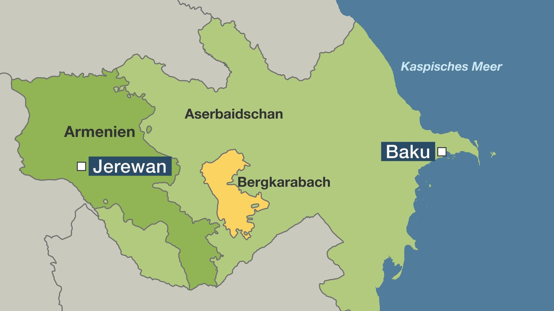 Baku Aserbaidschan Karte.Konflikt Mit Aserbaidschan Warum Ein Armenier Das Euro