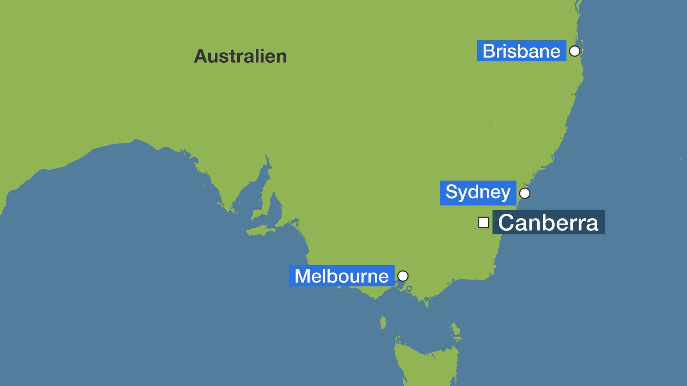 Feuer In Australien Buschbrande Bedrohen Nun Auch Melbourne