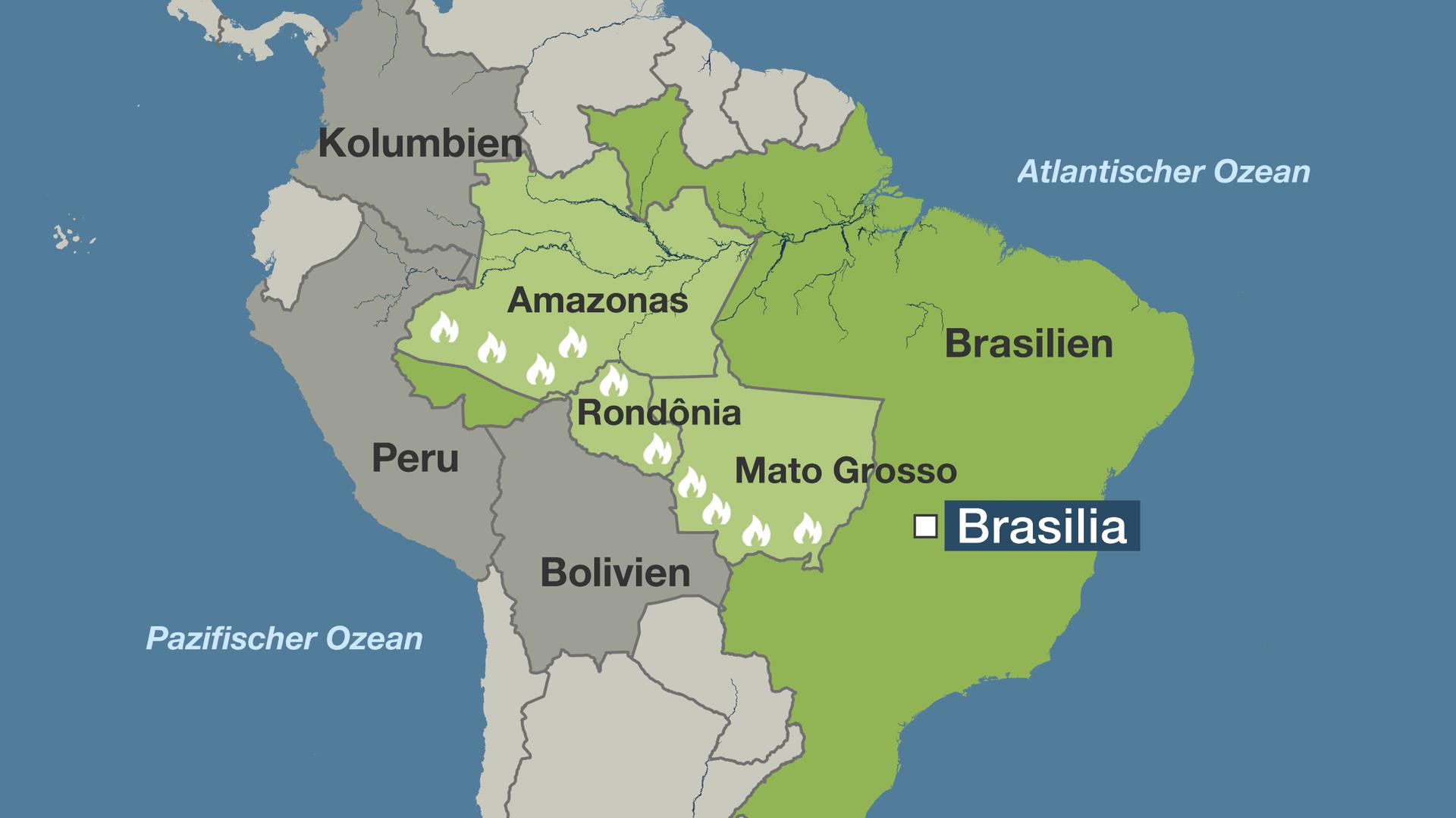 Schweden Waldbrände Karte.Waldbrände In Brasilien Bolsonaro Verbittet Sich Einmischung