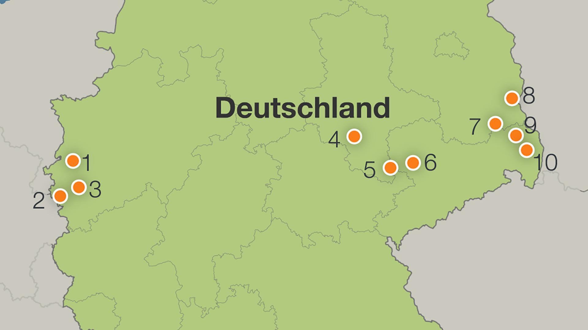 braunkohlegebiete in deutschland karte Gesetz für den Strukturwandel: Kabinett berät über Braunkohle